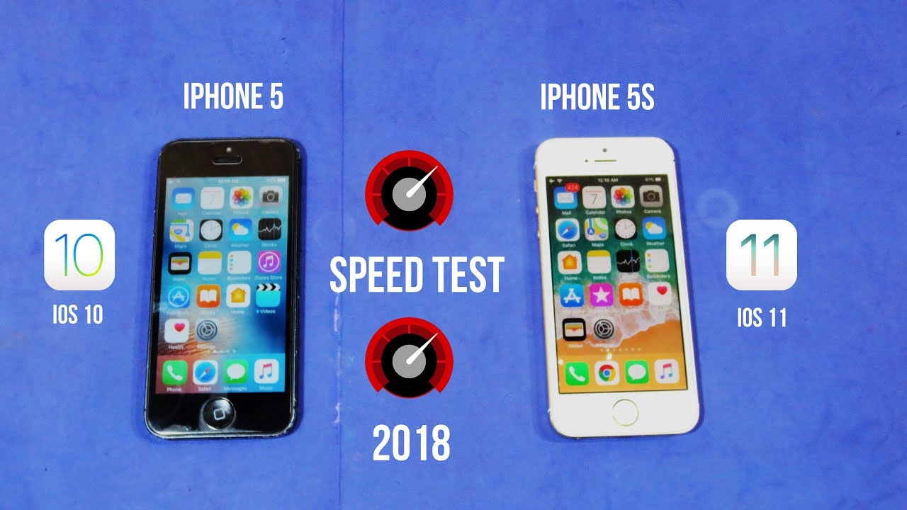 iphone 5s ios 11 vs iphone 5 ios 11 speed test 2018 youtube. Black Bedroom Furniture Sets. Home Design Ideas