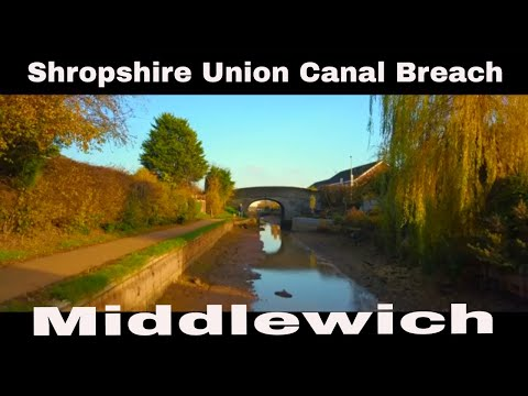 The Breach Of Shropshire Union Canal Middlewich 2018