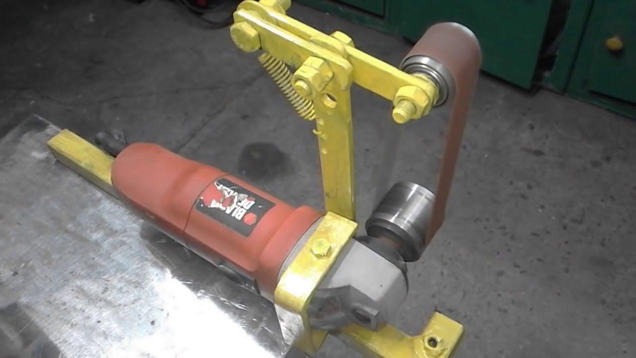 Homemade Mini Belt Sander Mini Szlifierka Taśmowa