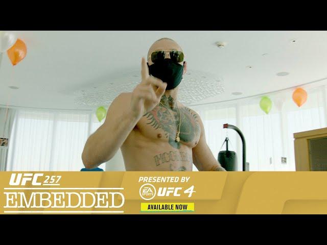 UFC 257 Embedded: Vlog Series - Episode 1