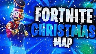 Comment obtenir CHRISTMAS MAP dans Fortnite Battle Royale! Carte de la neige Fortnite Working Now (Fortnite Hacking)