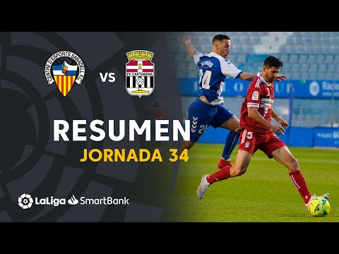Sabadell CE Cartagena Goals And Highlights