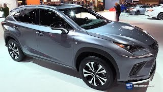 2018 Lexus NX 300 F Sport - Exterior and  Interior Walkaround - 2018 Chicago Auto Show