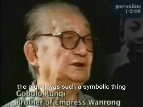 Pu Yi- The Last Emperor of China (part 4 English Subs)