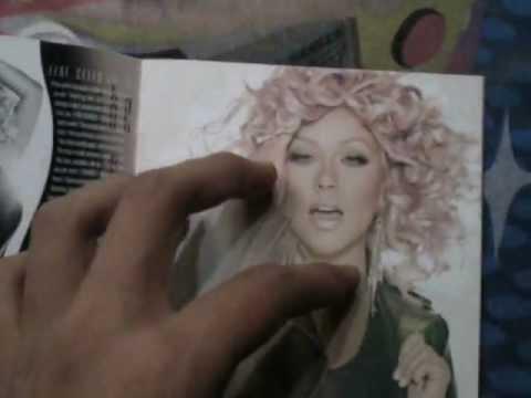 "Christina Aguilera - Lotus ""Explicit Version"" (Unboxing CD)"