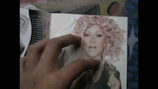 "Christina Aguilera - Lotus ""Explicit Version"" (Unboxing CD)"