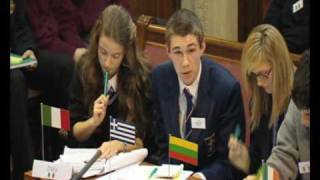 Mock Council of the European Union 2009