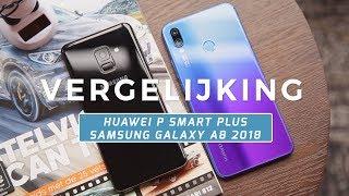 Huawei P Smart Plus vs Samsung Galaxy A8 2018 review (Dutch)