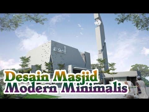 Desain Masjid Modern Minimalis Terbaru Youtube