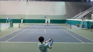 테니스 전국투어 첫번째!!! -인천 열우물 테니스장- …