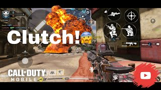 How to CLUTCH in COD mobile | Call of duty Mobile gameplay