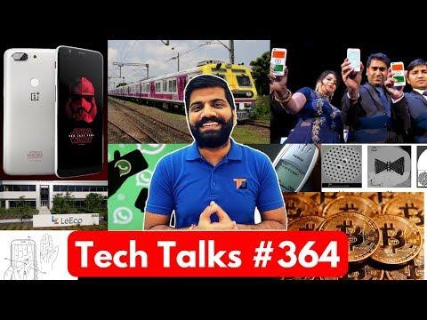 Tech Talks #364 - Freedom 251, Oneplus 5T Star Wars, Samsung Palm, Bitcoin Jobs