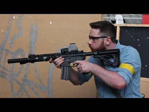 The Depot Airsoft CQB gameplay 2018