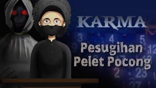 Pesugihan Pelet pocong - Kartun Hantu & Horor, Cerita Misteri, KARMA ANTV | Rizky Riplay
