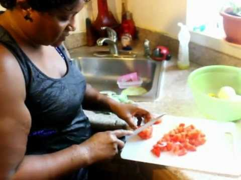 how to cook stew with fried fish