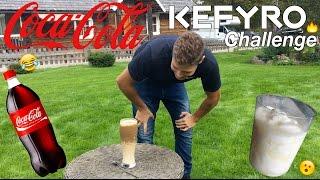 Coca Cola ir Kefyras (Rūgpienis) CHALLENGE!