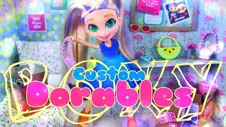 DIY - How to Make: Doll Head Swap Experiment Shoppie Boxy Girls | Boxy Dorables