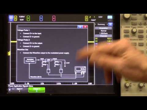 Performing Power Supply Rejection Ratio Measurements (PSRR) for Frequency Response Analysis