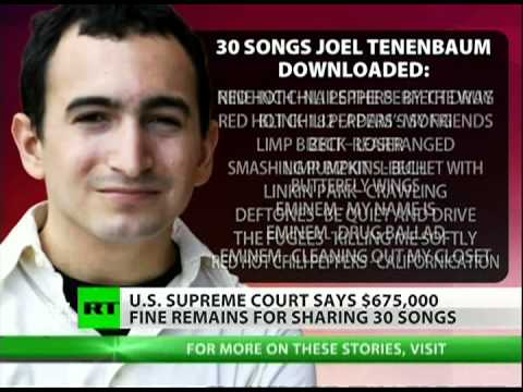 $675k for downloading 30 songs - justice to the record industry