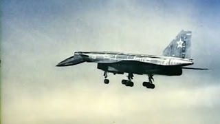 Sukhoi T-4 or 'Project 100' (Sotka). Rare footage.
