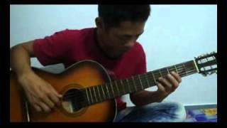 để gió cuốn đi guitar solo hay