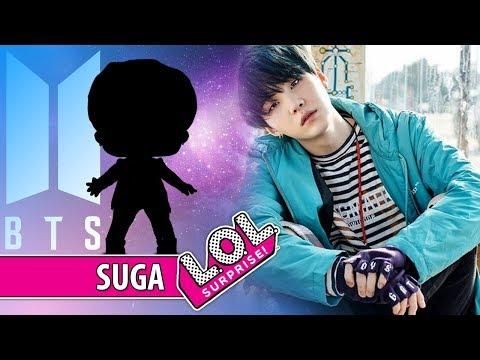 SUGA do grupo BTS virou LOL Surprise [Série BTS K-Pop] Ultra Mega Rara em português | PalitoMania