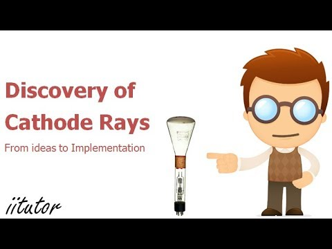 √ Discovery of Cathode Rays - From Ideas to Implementation | iitutor