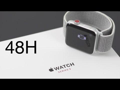 Apple Watch Series 3 Cellular mein Test FAZIT nach 48 Stunden!