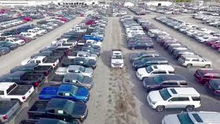 Laura Buick GMC Car and Truck Dealership Lot Flyover