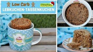 Low Carb Tassenkuchen mit Lebkuchen-Geschmack: Ein schneller Low Carb Tassenkuchen für Weihnachten