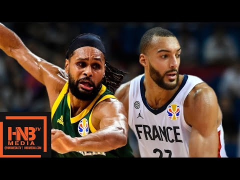 France Vs Australia - Full Game Highlights | FIBA World Cup 2019