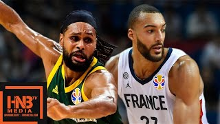 France vs Australia - Full Game Highlights   FIBA World Cup 2019