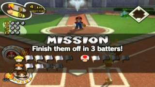 (GC) Mario Superstar Baseball - Special & Mario - Playthrough (4/5)