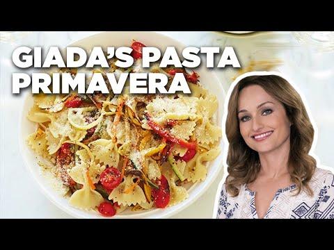 5-Star Pasta Primavera with Giada De Laurentiis | Food Network
