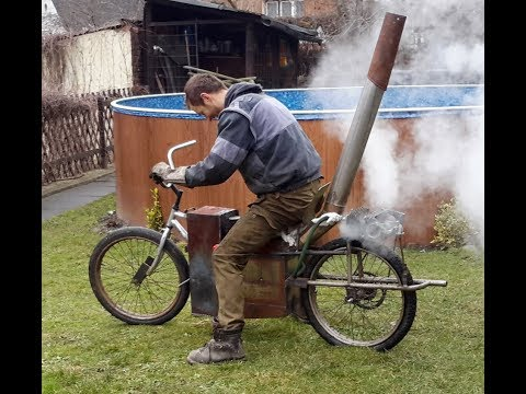 Steam powered bike