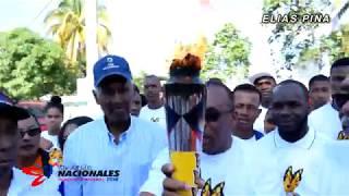 Videoclip Antorcha Juegos Nacionales 2018 Recorrido Elías Piña