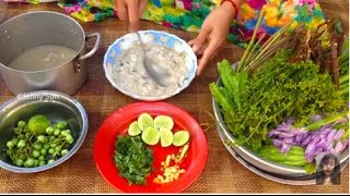Home Village Food, Cooking Top Cambodian Traditional Food, Country Food In My Village