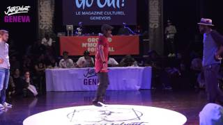 1/2 Popping ▶︎ Bad Dogz vs The Magnificent 2 ◀︎ Juste Debout Suisse 2017