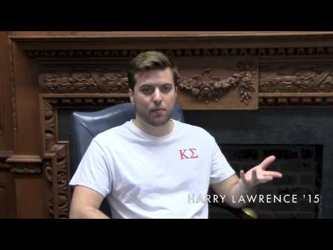 Trinity College Hartford CT - Harry Lawrence, German Studies Major at a Liberal Arts College