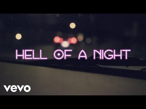 Dustin Lynch - Hell Of A Night (Lyric Video)