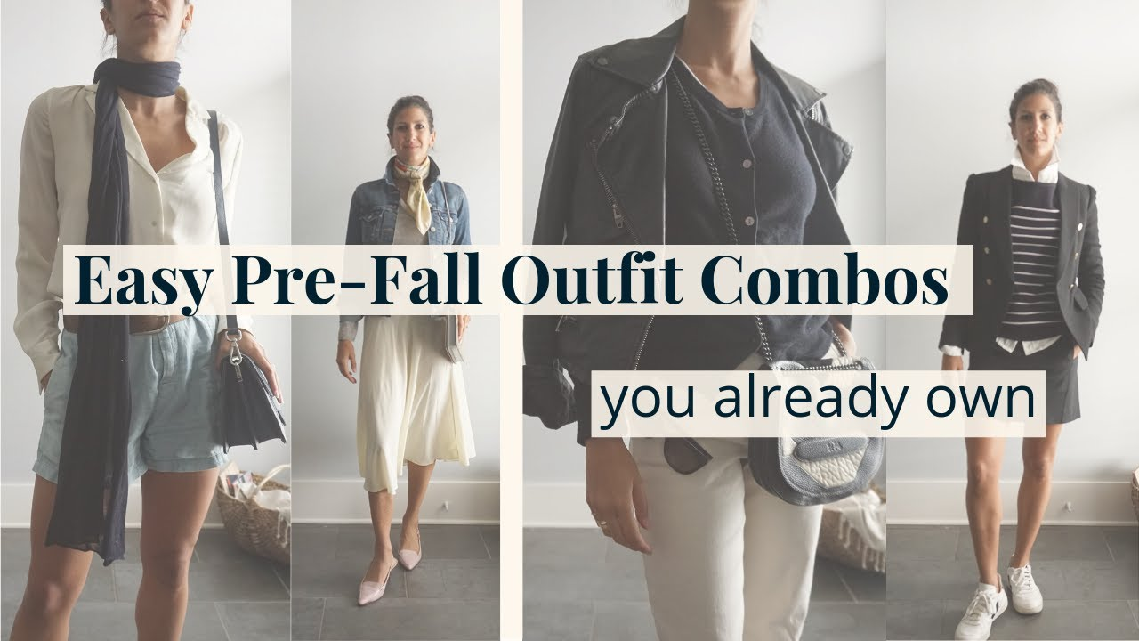 Easy Transitional Outfit Combinations   Chic Pre-fall Looks You Already Own 6