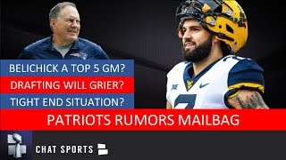 Will Grier Next Patriots QB? Plus Bill Belichick & Free Agency - New England Patriots Rumors Mailbag