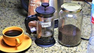جهاز الفرنش برس صانع القهوه المختصه بالبيت من ايكيا لمحبي القهوه مع جوري اسيا