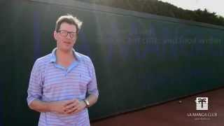 Tennis: William Sitwell: On holiday at La Manga Club