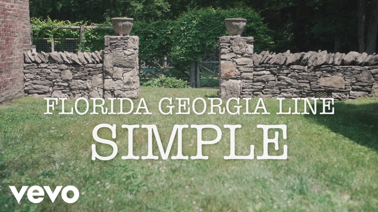Florida Georgia Line Simple Lyric Video Chords Chordify