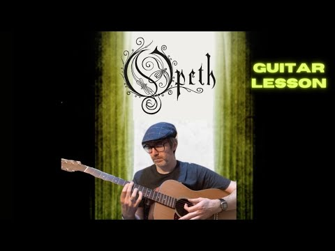 Guitar Lesson Coil by Opeth ANDY'S RIFF BANK