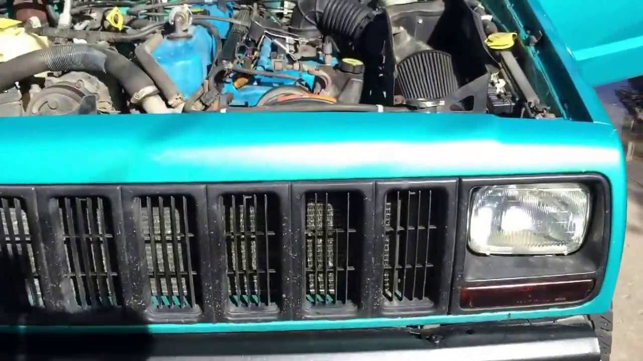 Clutch Slave Cylinder >> Jeep xj clutch repair and bleed - YouTube