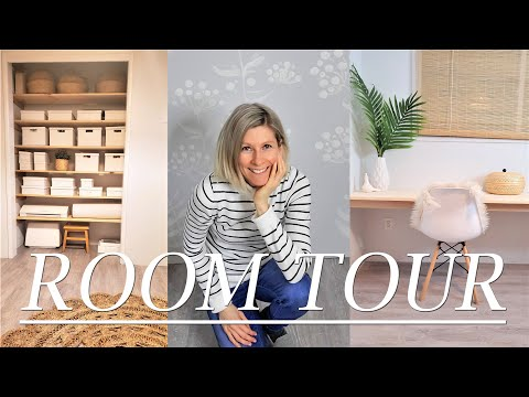 ROOM REVEAL -Finishing Up Office And Room Tour-fixer Upper -Family Minimalism-simple Living