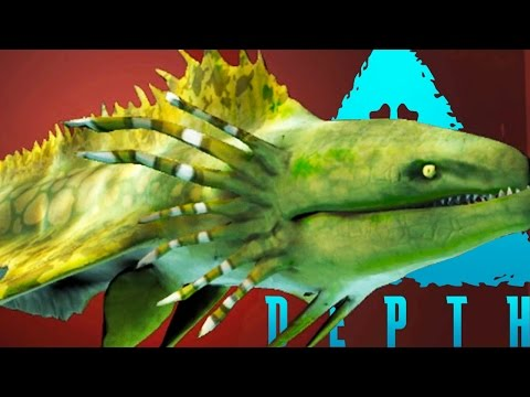 Depth - PLAYING AS A GIANT KING EEL - (Depth Gameplay