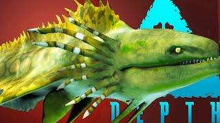 Depth - PLAYING AS A GIANT KING EEL - (Depth Gameplay